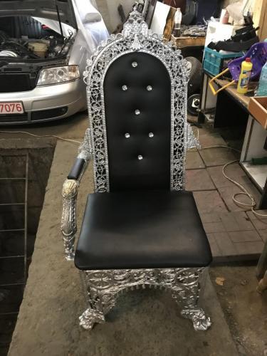 reparatie - sudura aluminiu scaun
