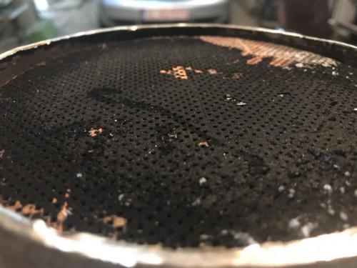 curatare filtru particule