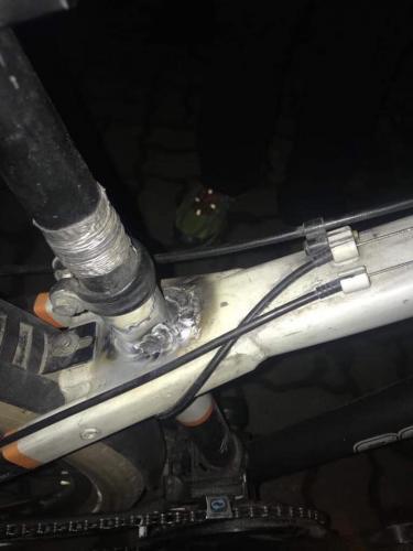 sudura tig cadru bicicleta aluminiu